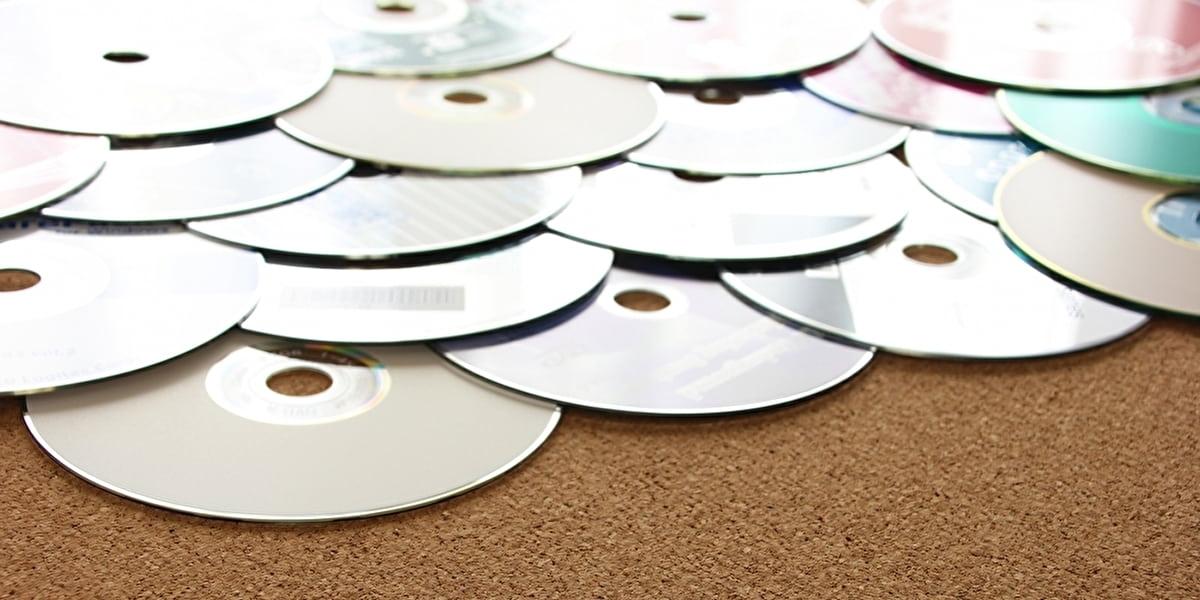 たくさんのCD・DVD