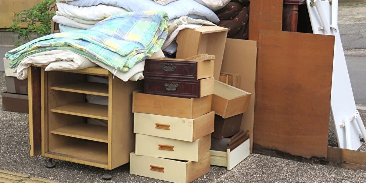 家具や布団などの粗大ゴミ