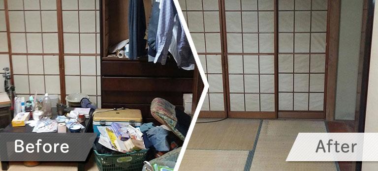 引越し不用品回収・料金事例②